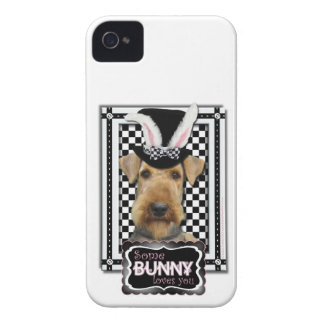 Easter - Some Bunny Loves You - Airedale iPhone 4 Cover