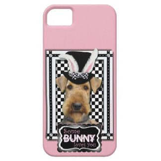 Easter - Some Bunny Loves You - Airedale iPhone SE/5/5s Case
