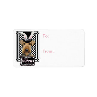 Easter - Some Bunny Loves You - Airedale Label