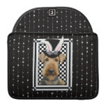 Easter - Some Bunny Loves You - Airedale Sleeves For MacBook Pro