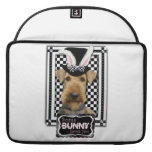 Easter - Some Bunny Loves You - Airedale MacBook Pro Sleeve