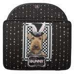 Easter - Some Bunny Loves You - Airedale Sleeves For MacBooks