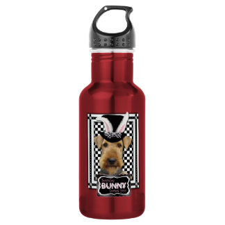 Easter - Some Bunny Loves You - Airedale 18oz Water Bottle