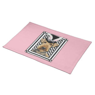 Easter - Some Bunny Loves You - Airedale Placemat