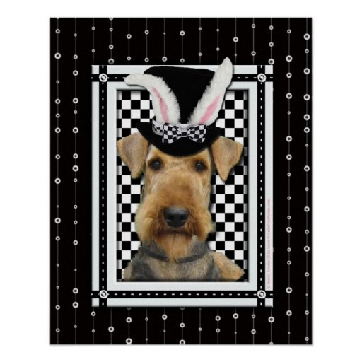 Easter - Some Bunny Loves You - Airedale Print