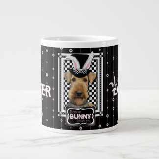 Easter - Some Bunny Loves You - Airedale Extra Large Mugs