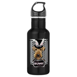 Easter - Some Bunny Loves You - Airedale Stainless Steel Water Bottle