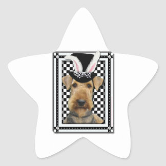Easter - Some Bunny Loves You - Airedale Star Sticker