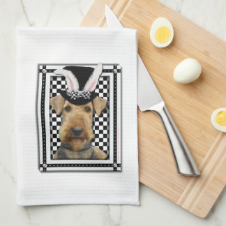 Easter - Some Bunny Loves You - Airedale Towel