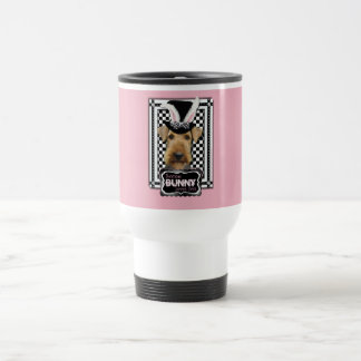 Easter - Some Bunny Loves You - Airedale Travel Mug