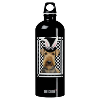 Easter - Some Bunny Loves You - Airedale Water Bottle