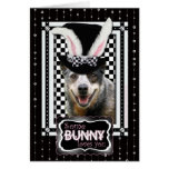 Easter Some Bunny Loves You  Australian Cattle Dog Greeting Card
