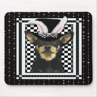 Easter - Some Bunny Loves You - Australian Kelpie Mouse Pads