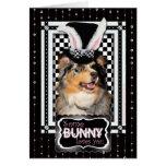 Easter - Some Bunny Loves You  Australian Shepherd Card