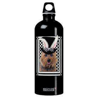 Easter - Some Bunny Loves You - Australian Terrier Aluminum Water Bottle