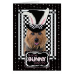 Easter - Some Bunny Loves You - Australian Terrier Greeting Cards
