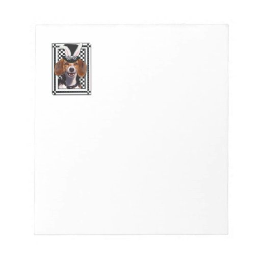 Easter - Some Bunny Loves You - Beagle Memo Note Pads