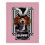 Easter - Some Bunny Loves You - Beagle Posters