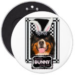 Easter - Some Bunny Loves You - Bernie Pinback Buttons