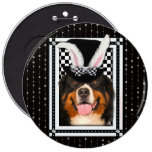 Easter - Some Bunny Loves You - Bernie Pinback Button