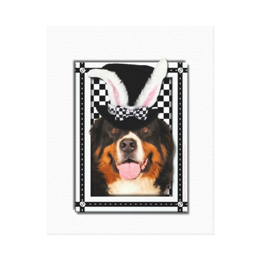 Easter - Some Bunny Loves You - Bernie Canvas Print
