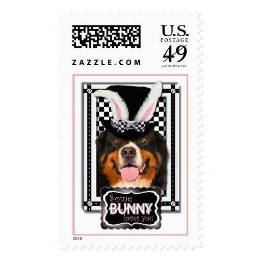 Easter - Some Bunny Loves You - Bernie Stamps