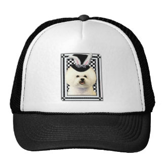 Easter - Some Bunny Loves You - Bichon Frise Trucker Hat