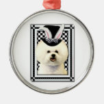 Easter - Some Bunny Loves You - Bichon Frise Christmas Ornament