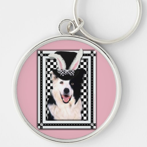 Easter - Some Bunny Loves You - Border Collie Keychains