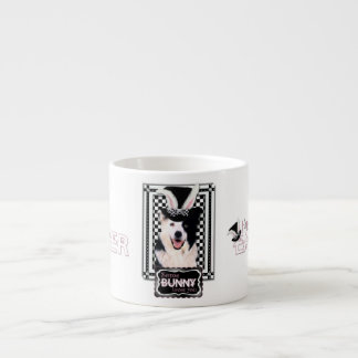 Easter - Some Bunny Loves You - Border Collie 6 Oz Ceramic Espresso Cup