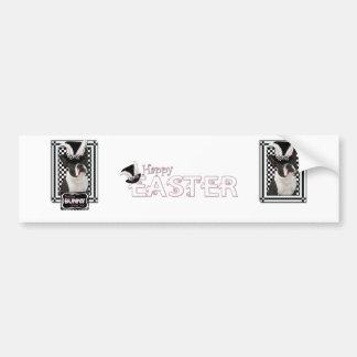 Easter - Some Bunny Loves You - Boston Terrier Bumper Sticker