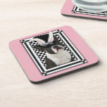 Easter - Some Bunny Loves You - Boston Terrier Drink Coaster
