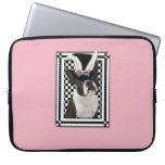 Easter - Some Bunny Loves You - Boston Terrier Laptop Computer Sleeves