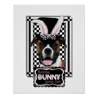 Easter - Some Bunny Loves You - Boxer Poster