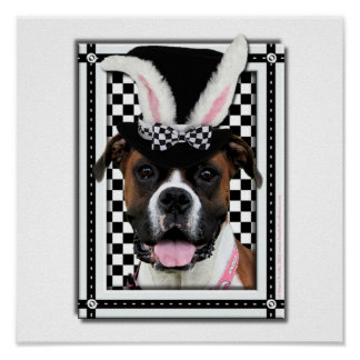 Easter - Some Bunny Loves You - Boxer Posters