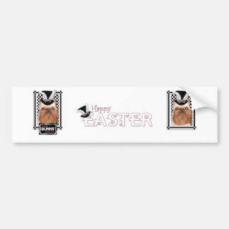 Easter - Some Bunny Loves You - Brussels Griffon Bumper Sticker