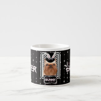 Easter - Some Bunny Loves You - Brussels Griffon Espresso Cup