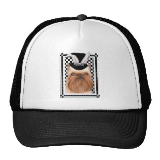 Easter - Some Bunny Loves You - Brussels Griffon Trucker Hat