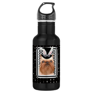 Easter - Some Bunny Loves You - Brussels Griffon Water Bottle