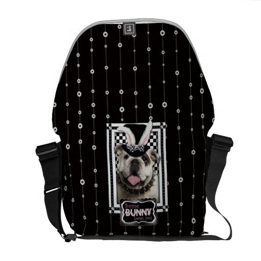 Easter - Some Bunny Loves You - Bulldog Courier Bag