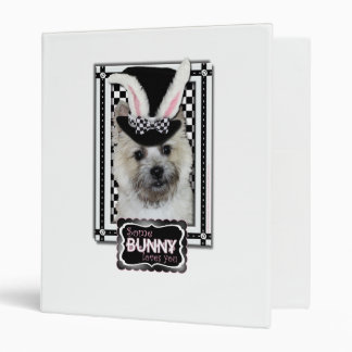 Easter - Some Bunny Loves You - Cairn Terrier Vinyl Binders