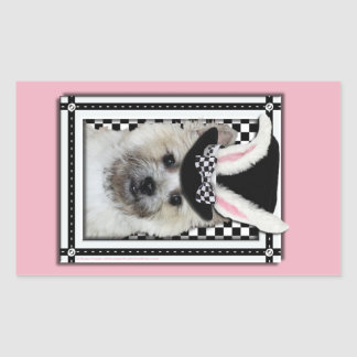 Easter - Some Bunny Loves You - Cairn Terrier Rectangle Stickers