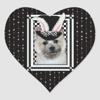 Easter - Some Bunny Loves You - Cairn Terrier Stickers
