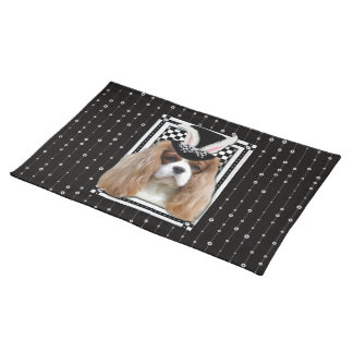 Easter - Some Bunny Loves You - Cavalier Blenheim Cloth Placemat