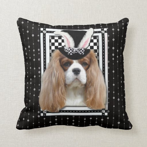 Easter - Some Bunny Loves You - Cavalier Blenheim Pillows