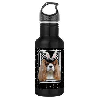 Easter - Some Bunny Loves You - Cavalier Blenheim Stainless Steel Water Bottle