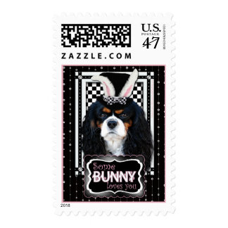 Easter - Some Bunny Loves You - Cavalier TriColor Postage