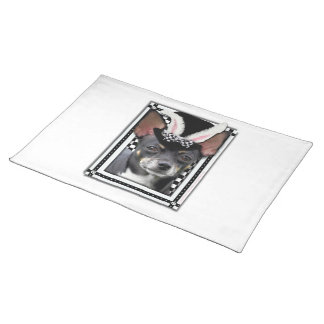 Easter - Some Bunny Loves You - Chihuahua Cloth Placemat