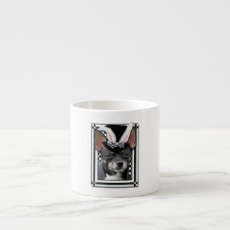Easter - Some Bunny Loves You - Chihuahua Espresso Cup