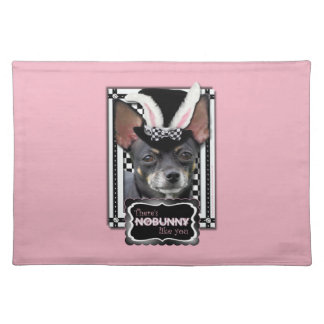 Easter - Some Bunny Loves You - Chihuahua Placemat